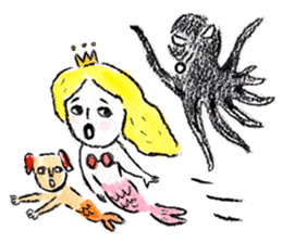 Mermaid and Friends sticker #104073