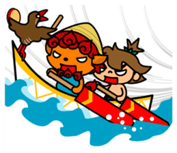 OKINAWA DAYS sticker #104726
