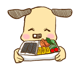 What is today's meal? sticker #104896