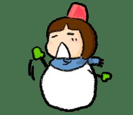 yuki-chan sticker #105036