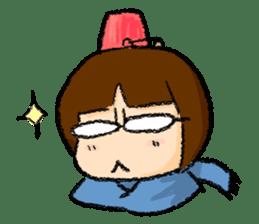 yuki-chan sticker #105041