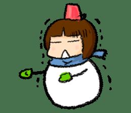 yuki-chan sticker #105044