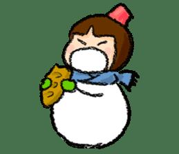 yuki-chan sticker #105060