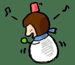 yuki-chan sticker #105068