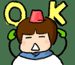 yuki-chan sticker #105075