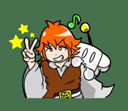 a Makky adventure(English.ver) sticker #105396