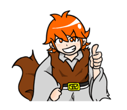 a Makky adventure(English.ver) sticker #105404