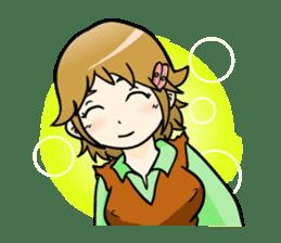 a Makky adventure(English.ver) sticker #105418