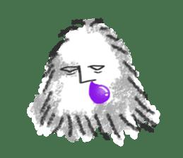 Hairy Takashi-kun sticker #105522