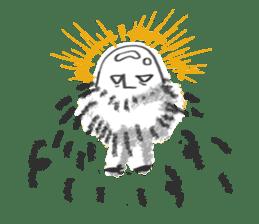 Hairy Takashi-kun sticker #105524