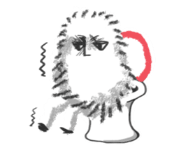 Hairy Takashi-kun sticker #105525