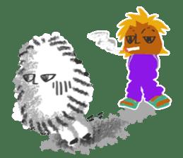 Hairy Takashi-kun sticker #105534