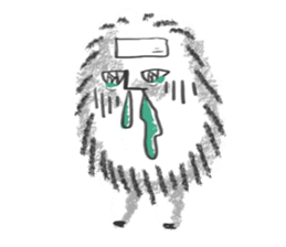 Hairy Takashi-kun sticker #105540