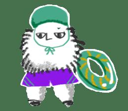 Hairy Takashi-kun sticker #105545