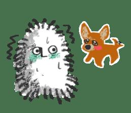 Hairy Takashi-kun sticker #105551