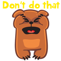 Grumpy Bear sticker #106439