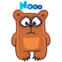 Grumpy Bear sticker #106445