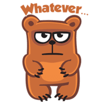 Grumpy Bear sticker #106447