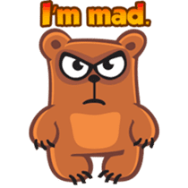 Grumpy Bear sticker #106461