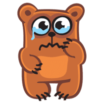 Grumpy Bear sticker #106462
