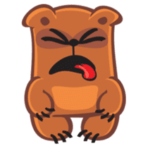 Grumpy Bear sticker #106463