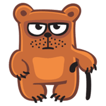 Grumpy Bear sticker #106464