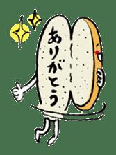 Bread Stamp sticker #106543