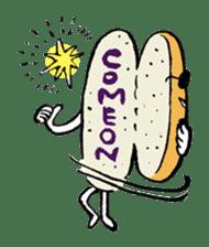 Bread Stamp sticker #106545