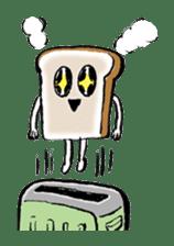 Bread Stamp sticker #106552