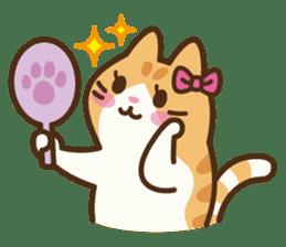 Trill the cat sticker #106959