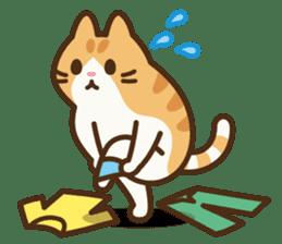 Trill the cat sticker #106980