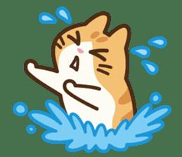 Trill the cat sticker #106982