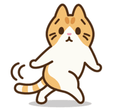 Trill the cat sticker #106991