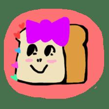 BABU series NO.20 BREAD sticker #107036
