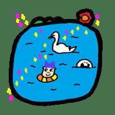 BABU series NO.20 BREAD sticker #107067