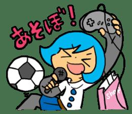 Team Aoume sticker #107436