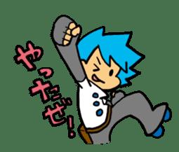 Team Aoume sticker #107443