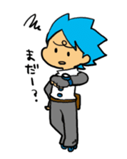 Team Aoume sticker #107448