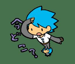 Team Aoume sticker #107449