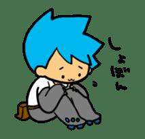 Team Aoume sticker #107452