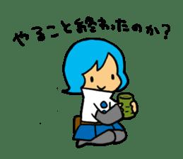 Team Aoume sticker #107455