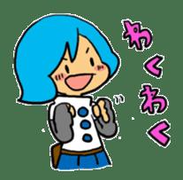 Team Aoume sticker #107459