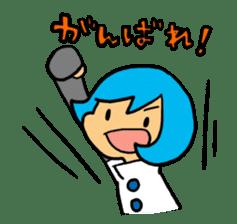 Team Aoume sticker #107464