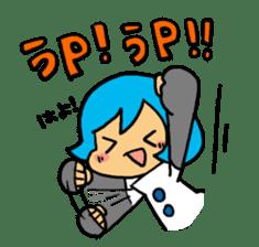 Team Aoume sticker #107472