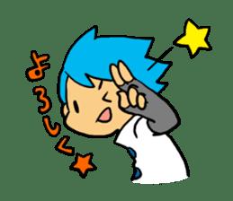 Team Aoume sticker #107474