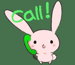 PinkyRabbit sticker #107803