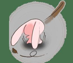 PinkyRabbit sticker #107812