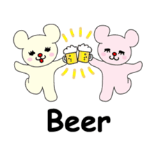 Bears love costumes of daily life sticker #107961