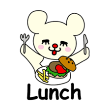 Bears love costumes of daily life sticker #107962