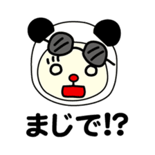 Bears love costumes of daily life sticker #107980